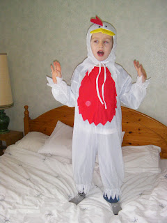 christmas turkey chicken suit fancy dress costume