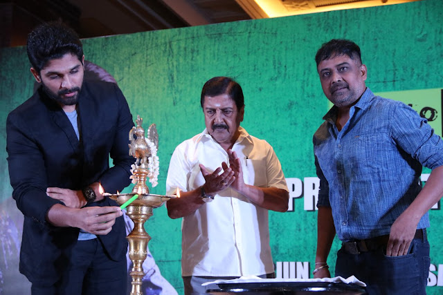 Allu Arjun's Tamil movie Launch Photos