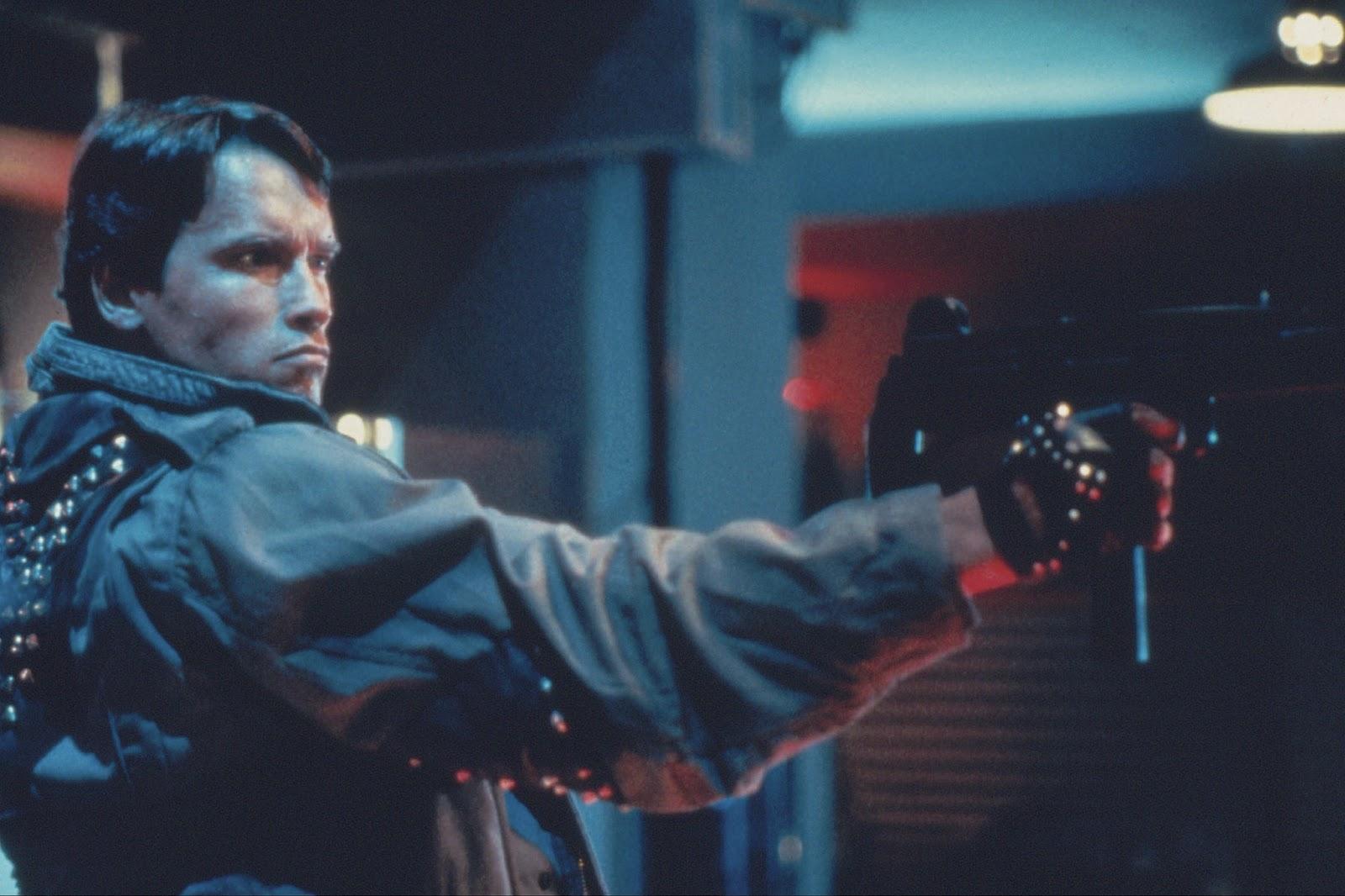 Znalezione obrazy dla zapytania terminator 1984
