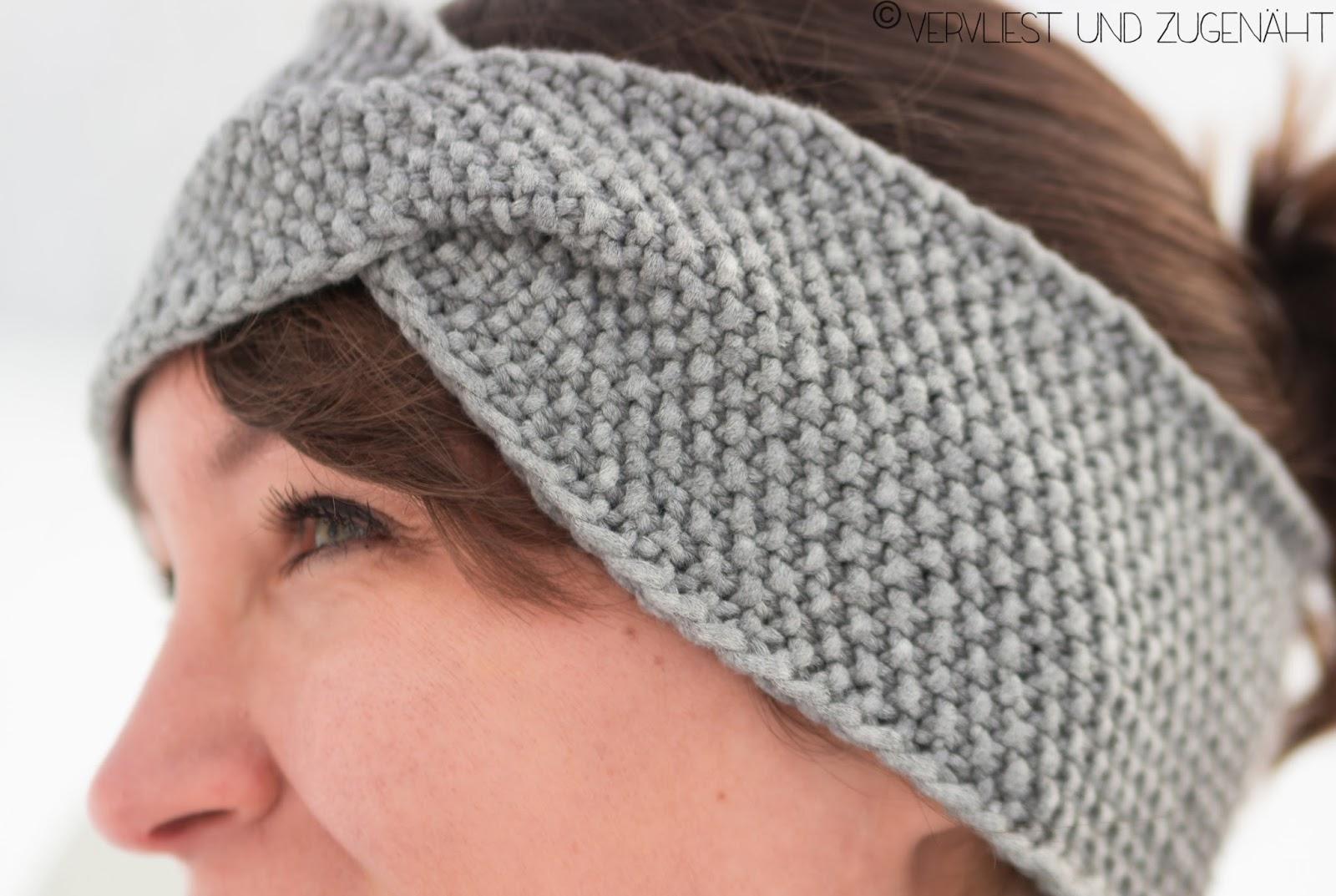 Berühmt Häkelarbeitwinter Stirnbänder Muster Ideen - Strickmuster ...