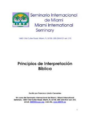 Francisco Limón Cervantes-Principios De Interpretación Bíblica-