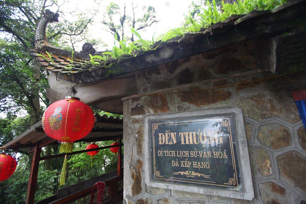 Hình ảnh đền Thượng núi Ba Vì