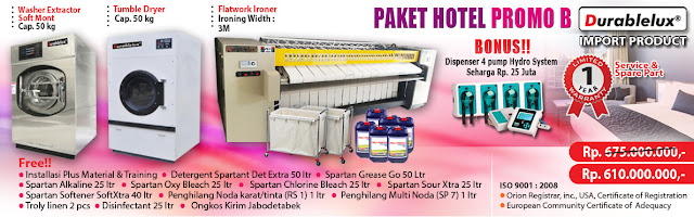 Paket Usaha Laundry Hotel 3