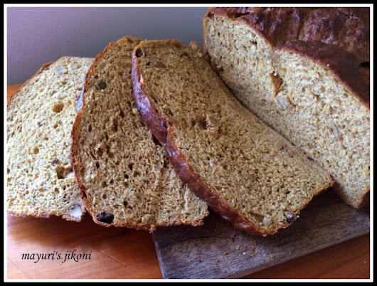 spicy pumpkin yeast bread