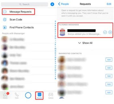 Bagaimana Menemukan Kotak Masuk [ INBOX ] Di Facebook yang Tersembunyi, Begini Caranya