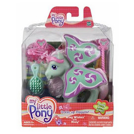 My Little Pony Minty Dress-up Daywear Wing Wishes  G3 Pony