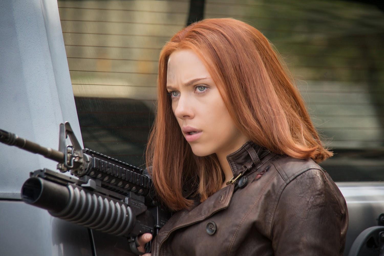 Scarlett Johansson Returns To Big Screen As Natasha Romanoff