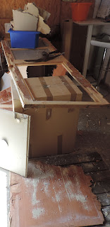 destroying a fire protection door