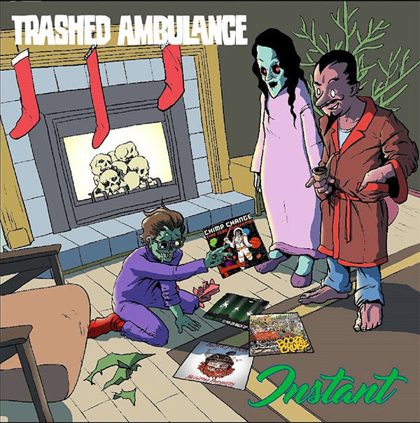 """Trashed Ambulance stream new song """"12 Inches Of Christmas"""""""