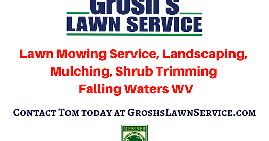 Lawn Mowing Service Falling Waters WV Berkeley County West Virginai