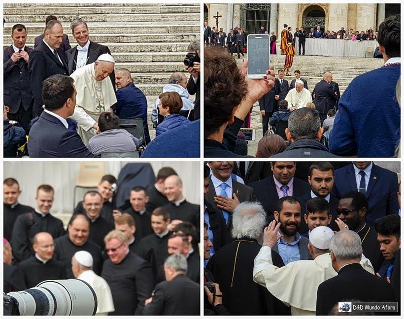 Papa Francisco na audiência Papal - Como ver o papa no Vaticano