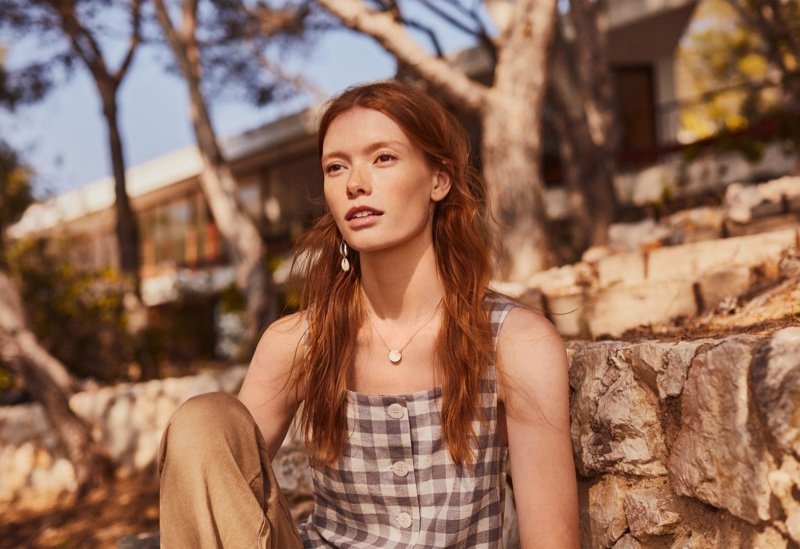 Mango Linen Spring/Summer 2019 Lookbook