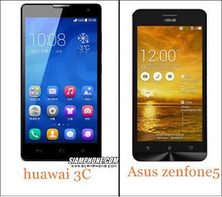 huawai honor 3c vs asus zenfone 5