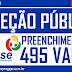 SELEÇÃO PÚBLICA SIMPLIFICADA COM 496 VAGAS PARA CONTRATOS TEMPORÁRIOS NA FUNASE