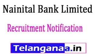 Nainital Bank Limited Recruitment Notification 2017