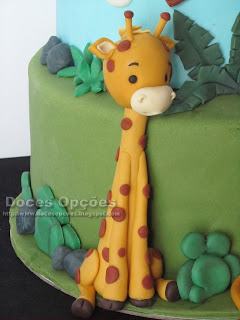 girafe sugarpaste