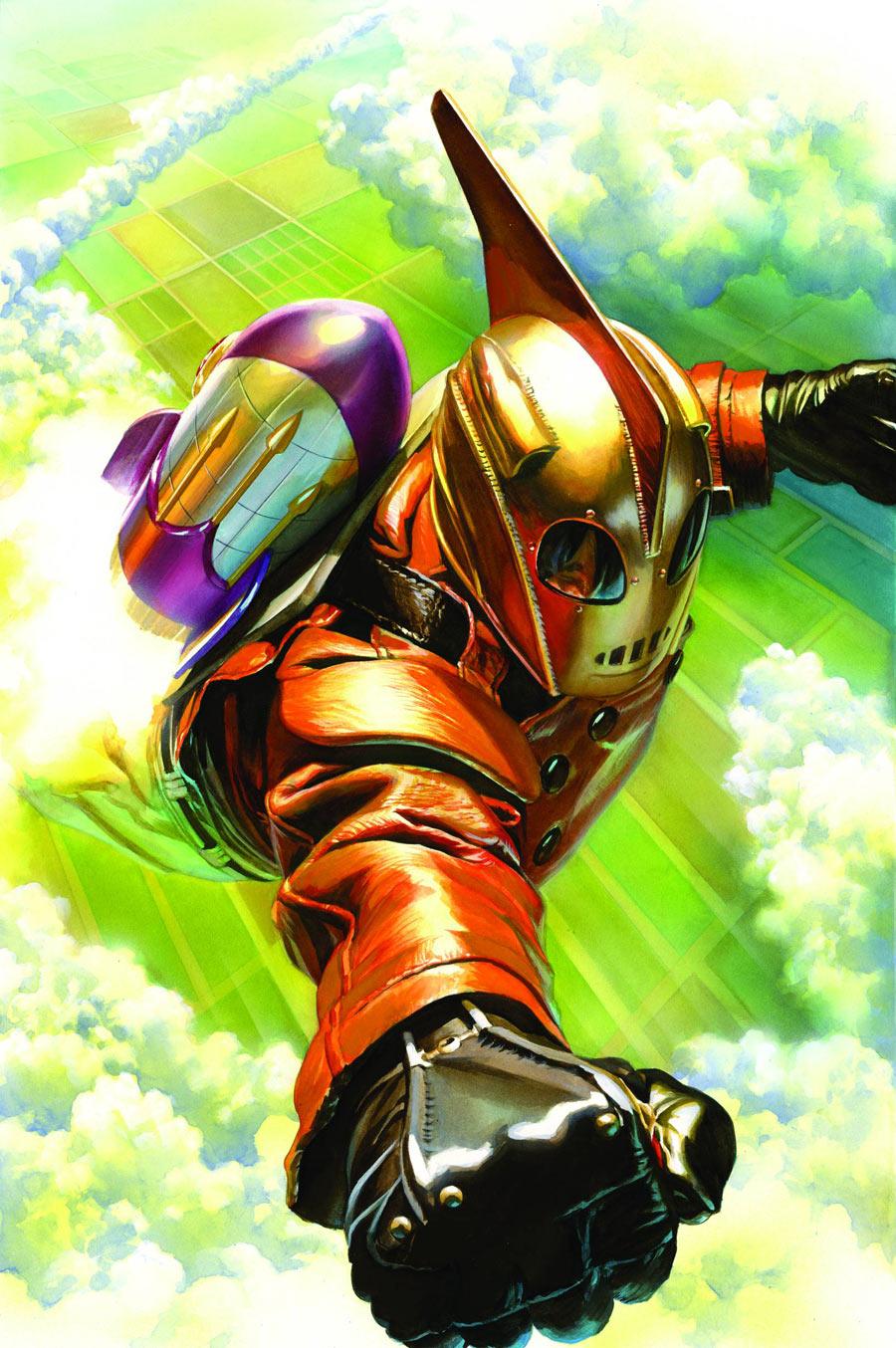 Ракетчик, The Rocketeer, экранизация комикса, фантастика, рецензия, обзор, Comic Book Adaptation, SciFi, Review