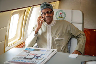 BUHARI ARRIVES IN UK FOR 10-DAY VACATION
