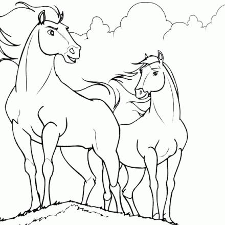 Imagenes Para Pintar De Caballos