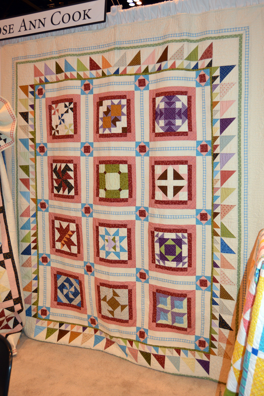 Sew In Love With Fabric Spring Quilt Market Booth Tour