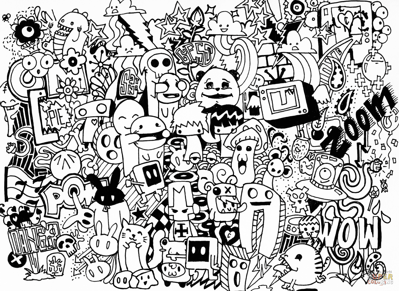 Kumpulan Doodle Art Keren