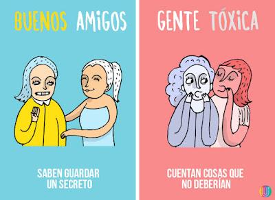 Reconoce gente tóxica