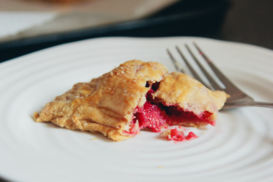 balsamic raspberry hand pies
