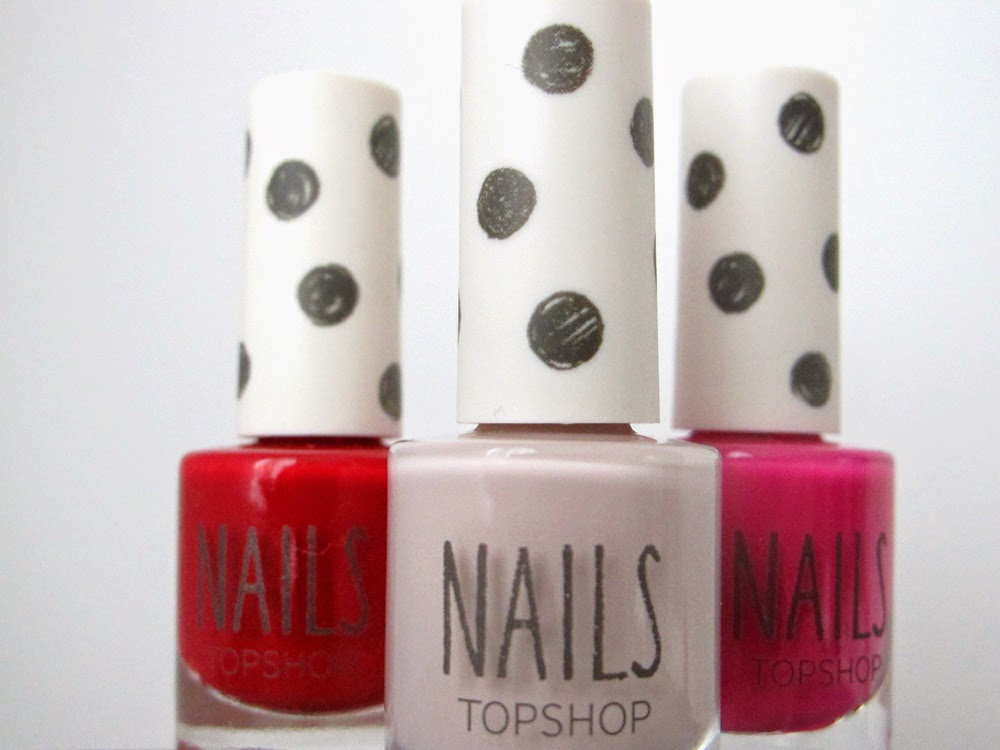 Topshop nail varnishes