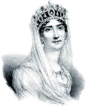 Joséphine, litografía, c. 1830.