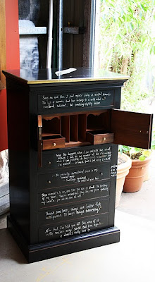 Designing Life Upcycling With Blackboard Paint