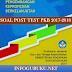 DOWNLOAD SOAL POST TEST PKB JENJANG PAUD/TK, SD, SMP DAN SMA 2017-2018