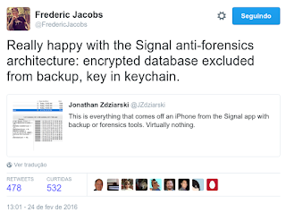 Frederic Jacobs about Signal