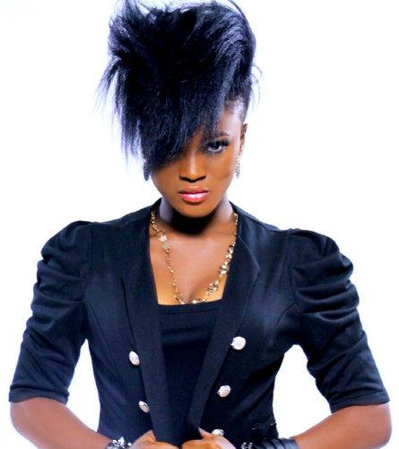 GRACEFUL HAIR MAKEOVER: Eva's bold hair looks