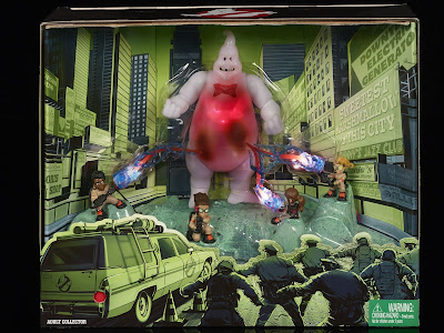 San Diego Comic-Con 2016 Exclusive Ghostbusters Lights & Sounds Mini Figure Box Set by Mattel