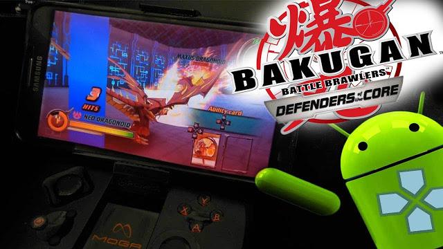 download game psp bakugan battle brawlers defenders of the core