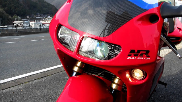 Honda NR750 on road price in india