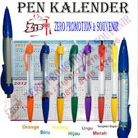 Souvenir pen kalender