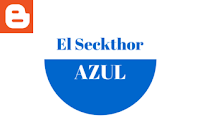 Logotipo El Seckthor Azul Blog