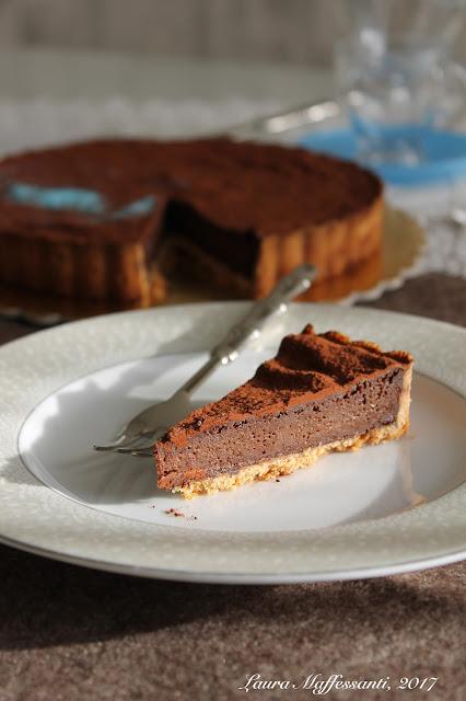 crostata cioccolato ricetta buonissima