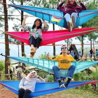 Wisata Instagramable Rumah Pohon Pabangbon