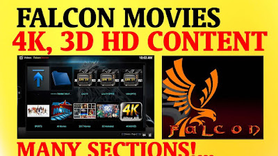 Falcon-movies addon also support for watch 4K movies on kodi