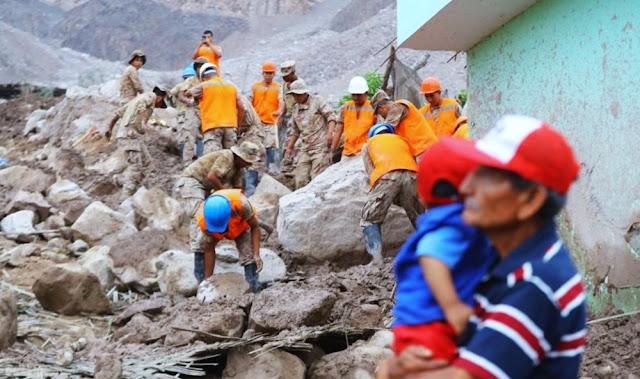 Huaicos en Arequipa