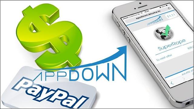 Gagner de l'argent avec AppDown