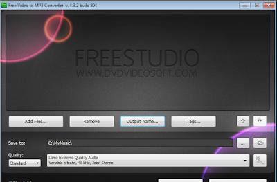 تحميل برنامج تحويل الفيديو MP3 للكمبيوتر Free Video to MP3 Converter