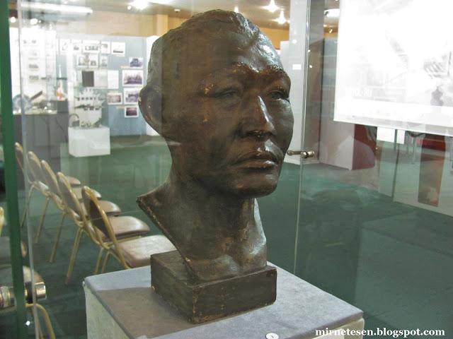 Музей истории Бурятии - реконструкция головы хунну