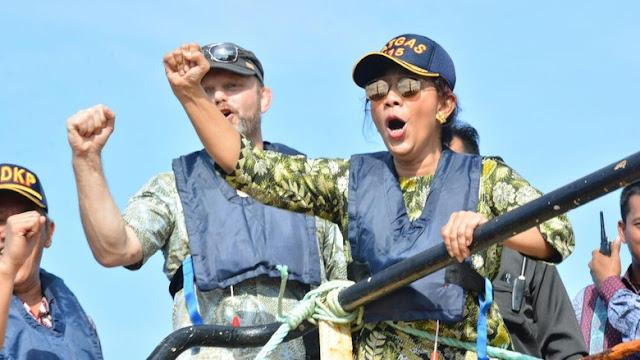 Menteri Susi Akan jadikan Indonesia Pengekspor ikan nomer satu di ASEAN