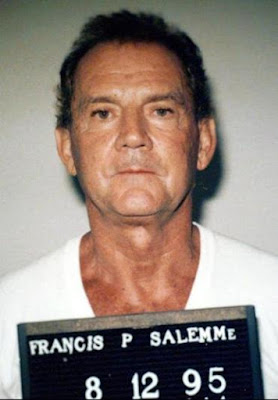 "Francis ""Cadillac Frank"" Salemme, a top-level member of the New England Mafia, was arrested having been charged with murdering a witness"