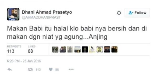 Makan Babi Itu Halal! - Status Ahmad Dhani Cetus Kemarahan Orang Islam BIKIN PANAS!