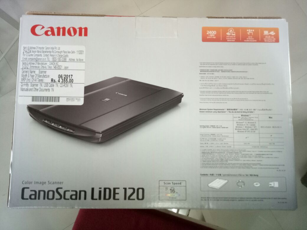KITE NEWS TIRUR: Canoscan LIDE 120 in ubundu 14 04 help File