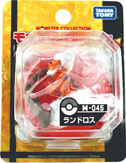 Landorus figure Takara Tomy Monster Collection M series